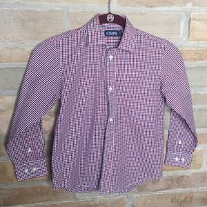 Chaps shirt in like new condition. Size 7
